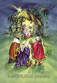 Interlitho, CHRISTMAS SANTA, SNOWMAN, nostalgic, paintings, Holy Family, kings(KL2341/2,#X#) Weihnachten, nostalgisch, Navidad, nostálgico, illustrations, pinturas