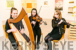 at the Macalla na hÉireann concert tour hosted by Kerry CCE in Siamsa Tire on Tuesday were Clodagh Murphy, Caoimhe Scanlon Aideen Quinlan Lixnaw comhaltas