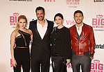 WEST HOLLYWOOD, CA - NOVEMBER 15: (L-R) Actors Katherine Bailess, James LaRosa, Jody Lyn O'Keefe and Adam Senn attend VH1 Big In 2015 With Entertainment Weekly Awards at Pacific Design Center on November 15, 2015 in West Hollywood, California.