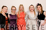 At the Intermediate School Killorglin taking part in the Fashion Show on Thursday night<br /> L-R Holly Prendergast, Jane Carr, Maggie West, Tara Clifford & Roisín Griffin.