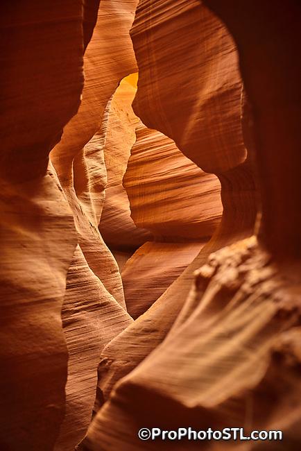 Lower Antelope Canyon in Arizona, USA