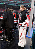 Florence Schelling (NU - 41) - The University of New Hampshire Wildcats defeated the Northeastern University Huskies 5-3 (EN) on Friday, January 8, 2010, at Fenway Park in Boston, Massachusetts as part of the Sun Life Frozen Fenway doubleheader.