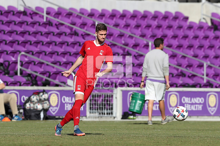 Orlando, Florida - Wednesday January 17, 2018: Sam Gainford. Match Day 3 of the 2018 adidas MLS Player Combine was held Orlando City Stadium.