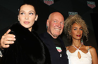www.acepixs.com<br /> <br /> February 13 2017, New York City<br /> <br /> (L-R) Bella Hadid, CEO of TAG Heuer Jean-Claude Biver and Leona Lewis at 'A Fresh New Face For TAG Heuer' at Equinox Bond Street on February 13, 2017 in New York City.<br /> <br /> By Line: Nancy Rivera/ACE Pictures<br /> <br /> <br /> ACE Pictures Inc<br /> Tel: 6467670430<br /> Email: info@acepixs.com<br /> www.acepixs.com