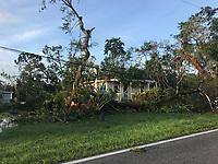2017 FPL Hurricane Irma damage in Bonita Springs, Fla. on Sept. 11, 2017