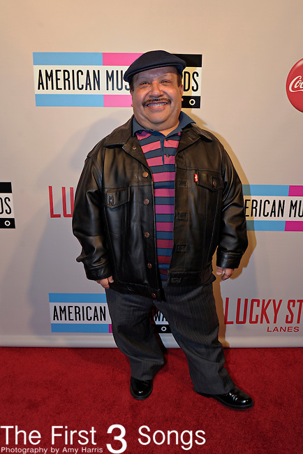 "Chuy Bravo, assistant on the Chelsea Lately show, attends the 2010 ""American Music Awards"" Pre-Party Charity Bowl Tournament hosted by Dick Clark Productions at Lucky Strike in Los Angeles, California.  Chuey bowled on behalf of The Little Nugget Foundation."