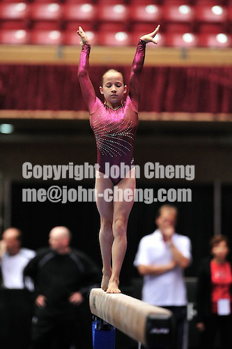7/26/09 - Photo by John Cheng for USA Gymnastis.  Covergirl Classic takes place at the Veterans Auditorim in Des Moines, Iowa.