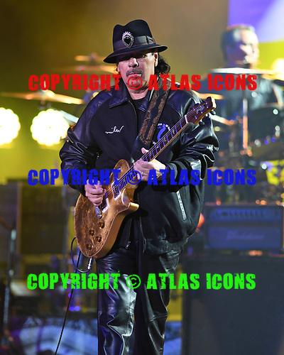 HOLLYWOOD FL - OCTOBER 28: Carlos Santana performs at Hard Rock Live held at the Seminole Hard Rock Hotel & Casino on October 28, 2017 in Hollywood, Florida. : Credit Larry Marano © 2017