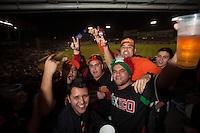 Ambiente en el estadio durante el sexto juego de la serie final por el campeonato 2014 de la Liga Mexicana del Pacifico en el estadio Sonora . Naranjeros de Hermosillo vs Mayos de Navojoa. 28 de Enero del 2014.<br /> <br /> Luis Gutierrez
