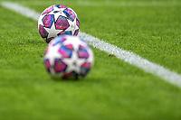 Adidas champions league balls are seen on the pictch prio to the match <br /> Milano 19/02/2020 Stadio San Siro <br /> Football Champions League 2019/2020 <br /> Round of 16 1st leg <br /> Atalanta - Valencia <br /> Photo Andrea Staccioli / Insidefoto