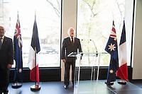 ADRIAN BRAND, TENOR AUSTRALIEN - VERNISSAGE DE LíEXPOSITION 'LíåIL ET LA MAIN' A L'AMBASSADE D'AUSTRALIE