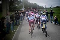 up the last (categorised) climb of the day; the Côte de la Roche-aux-Faucons<br /> <br /> 105th Liège-Bastogne-Liège 2019 (1.UWT)<br /> One day race from Liège to Liège (256km)<br /> <br /> ©kramon