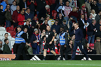 Birmingham City Manager, Garry Monk, is sent to the stands in the second half during Brentford vs Birmingham City, Sky Bet EFL Championship Football at Griffin Park on 2nd October 2018