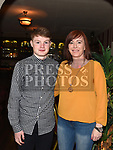 Jamie Kelly and Carol Meehan at the launch of Newtown Blues Strictly Come Dancing in Garvey's. Photo:Colin Bell/pressphotos.ie