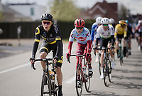Niki Terpstra (NED/Direct Energie)<br /> <br /> 74th Dwars door Vlaanderen 2019 (1.UWT)<br /> One day race from Roeselare to Waregem (BEL/183km)<br /> <br /> ©kramon