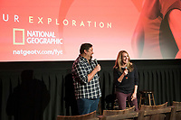 "NEW YORK - MAY 23: Brian Peterson and Kelly Souders attends an FYC event for National Geographic's ""The Hot Zone"" at Metrograph on May 23, 2019 in New York City. (Photo by Ben Hider/National Geographic/PictureGroup)"