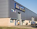 Europarts depot building, Whitehouse, Ipswich, Suffolk, England