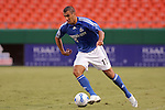 Aug 19 2007:  Yura Movsisyan (17) of the Wizards.  The MLS Kansas City Wizards were defeated by the visiting New England Revolution 0-1 at Arrowhead Stadium in Kansas City, Missouri, in a regular season league soccer match.