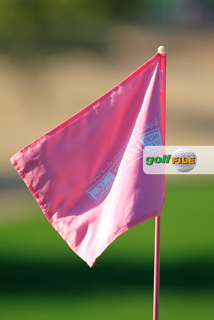 Pink Friday's Round 2 of the 2015 Omega Dubai Desert Classic held at the Emirates Golf Club, Dubai, UAE.: Picture Eoin Clarke, www.golffile.ie: 1/30/2015
