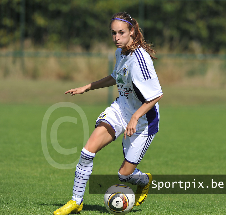 RSC Anderlecht Dames  : Tessa Wullaert.foto DAVID CATRY /  Vrouwenteam.be.