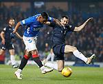 27.02.2019: Rangers v Dundee: Alfredo Morelos and Ryan McGowan