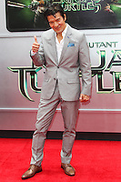 WESTWOOD, LOS ANGELES, CA, USA - AUGUST 03: Tohoru Masamune at the Los Angeles Premiere Of Paramount Pictures' 'Teenage Mutant Ninja Turtles' held at Regency Village Theatre on August 3, 2014 in Westwood, Los Angeles, California, United States. (Photo by Celebrity Monitor)
