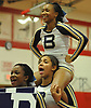 Baldwin performs during the varsity segment of the Freeport Devil Winter Cheerleading Competition at Freeport High School on Sat, Dec. 16, 2017.
