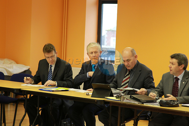 Members of Louth Co Council meeting int he Barbican centre in Drogheda...Picture: Fran Caffrey/www.newsfile.ie.