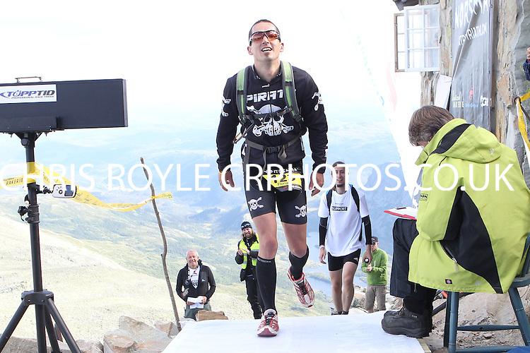 Race number 123 - Florian Kratz - Norseman Xtreme Tri 2012 - Norway - photo by chris royle/ boxingheaven@gmail.com