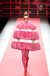 MADRID, SPAIN - FEBRUARY 04: A model walks the runway in the Agatha Ruiz de la Prada fashion show during the Mercedes-Benz Fashion Week Madrid Autumn/Winter 2012 at Ifema on February 4, 2012 in Madrid, Spain. (Photo by Juan Naharro Gimenez)