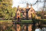 Wood Hall manor house, Sutton, Suffolk, England, UK