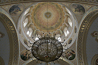 UA51233.tif	UKRAINE,CRIMEA,SEVASTOPOL,CHERSONESE AREA,ST.VLADIMIR CATHEDRAL,1861-1892,INTERIOR,EASTER HOLIDAY