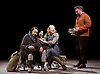 Light Shining in Buckinghamshire <br /> by Caryl Churchill <br /> directed by Lyndsey Turner at the Lyttelton Theatre NT Southbank, London, Great Britain <br /> 22nd April 2015 <br /> <br /> <br /> <br /> <br /> <br /> <br /> Adelle Leonce<br /> <br /> Amanda Lawrence<br /> <br /> Joe Caffrey <br /> <br /> <br /> Photograph by Elliott Franks <br /> Image licensed to Elliott Franks Photography Services
