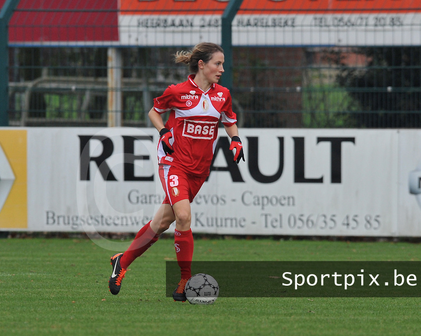 Rassing Harelbeke - Standard Femina : Imke Courtois.foto DAVID CATRY / Vrouwenteam.be