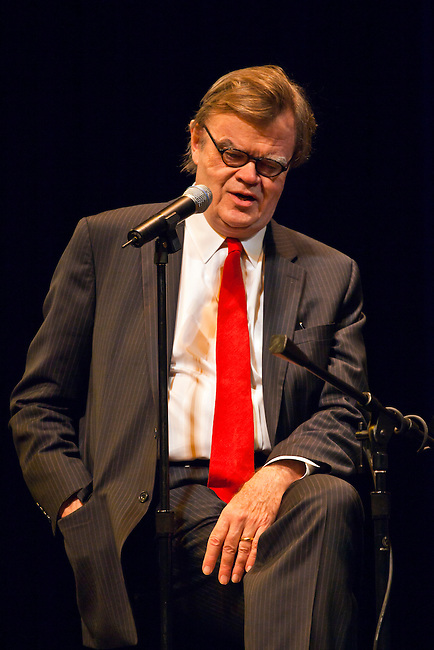GARRISON KEILLOR preforms at the Sunset Center - CARMEL, CALIFORNIA