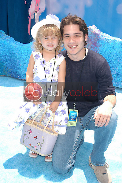 Mike Erwin and neice Bella