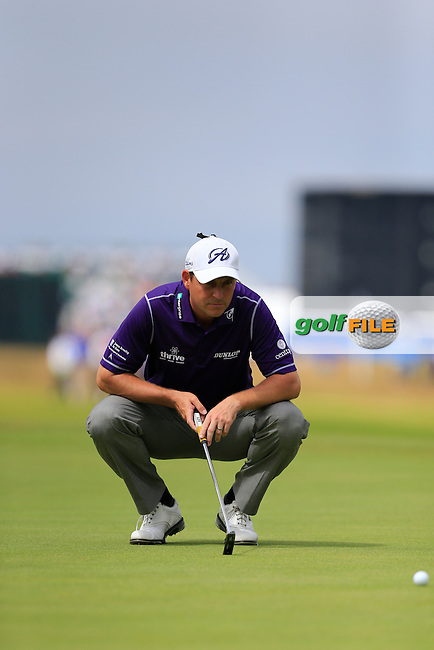 David HOWELL (ENG) during round four of The 143rd Open championship Royal Liverpool Golf club, Hoylake, England.: Picture Fran Caffrey, www.golffile.ie: 20th July 2014