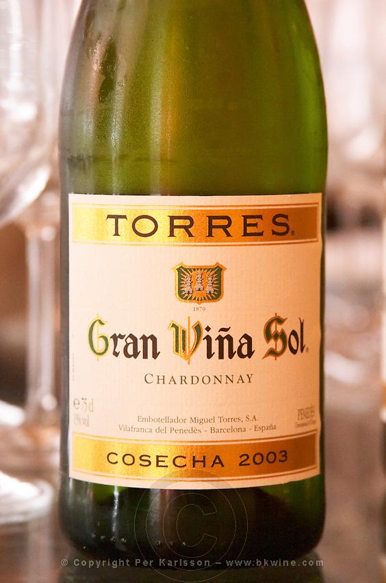 Gran Vina Sol Chardonnay 2003. Torres Penedes Catalonia Spain