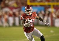 Hawgs Illustrated/BEN GOFF <br /> David Williams, Arkansas running back, carries the ball in the 2nd quarter against Florida A&M Thursday, Aug. 31, 2017, during the game at War Memorial Stadium in Little Rock.
