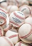 23 May 2015: New baseballs lie ready in a cart during batting practice prior to a game between the Philadelphia Phillies and the Washington Nationals at Nationals Park in Washington, DC. The Phillies defeated the Nationals 8-1 in the second game of their 3-game weekend series. Mandatory Credit: Ed Wolfstein Photo *** RAW (NEF) Image File Available ***