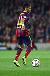 UEFA Champions League 2013/2014.<br /> Quarter-finals 1st leg.<br /> FC Barcelona vs Club Atletico de Madrid: 1-1.<br /> Neymar Jr.