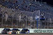 #18: Noah Gragson, Kyle Busch Motorsports, Toyota Tundra Safelite AutoGlass #24: Justin Haley, GMS Racing, Chevrolet Silverado Fraternal Order Of Eagles #16: Brett Moffitt, Hattori Racing Enterprises, Toyota Tundra AISIN Group