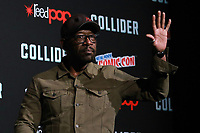 NEW YORK, NY - OCTOBER 7: Lennie James at AMC's The Walking Dead panel at New York Comic Con on October 7, 2017 in New York City.    <br /> CAP/MPI/DC<br /> &copy;DC/MPI/Capital Pictures