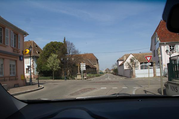 Entrance to Eguisheim, France, 2014