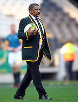 Nelspruit, SOUTH AFRICA, 20 August, 2016 - Allister Coetzee (Head coach) of South Africa during the match between South Africa and Argentina in The Rugby Championship at the Mbombela Stadium, Nelspruit (Photo by Steve Haag UAR)
