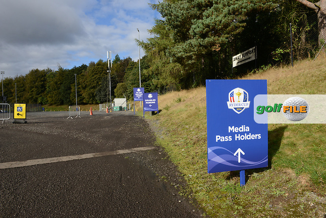 prior to the 2014 Ryder Cup at the Gleneagles Hotel on 24th September 2014.<br /> Picture Richard Martin-Roberts www.golffile.ie