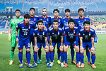 Suwon Samsung Bluewings squad pose for team photo during the AFC Champions League 2017 Group G match between Suwon Samsung Bluewings (KOR) vs Kawasaki Frontale (JPN) at the Suwon World Cup Stadium on 25 April 2017, in Suwon, South Korea. Photo by Yu Chun Christopher Wong / Power Sport Images