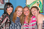 At the fundraising dance in the in aid of the Ballyheigue Lifepack Group in the White Sands Hotel on Saturday night. Fiona Galway, Ballyduff, Catherine O'Connor, Ballyheigue, Maura O'Sullivan and Geraldine Galway, Ballyheigue..   Copyright Kerry's Eye 2008