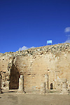 Judea, Herodion, built by Herod the Great as a fortified palace, the Northern Portico