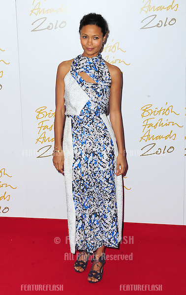 Thandie Newton at The British Fashion Awards 2010, Savoy Hotel & Theatre, The Strand, London. 07/12/2010  Picture by: Simon Burchell / Featureflash...